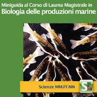 Corso di Laurea Magistrale in Biologia delle Produzioni Marine
