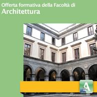 Offerta Formativa della Facoltà di Architettura