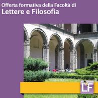Offerta Formativa di Lettere e Filosofia