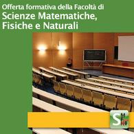 Offerta Formativa della Facoltà di Scienze MM.FF.NN