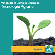 Corso di Laurea in Tecnologie Agrarie