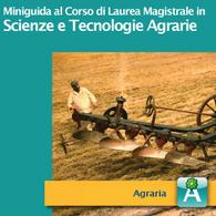 Corso di Laurea Magistrale in Scienze e Tecnologie Agrarie