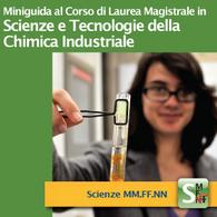 Corso di Laurea Magistrale in Scienze e Tecnologie della Chimica Industriale