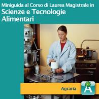 Corso di Laurea Magistrale in Scienze e Tecnologie Alimentari