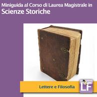 Corso di Laurea Magistrale in Scienze Storiche