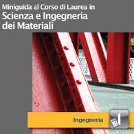 Corso di Laurea in Scienze ed Ingegneria dei Materiali
