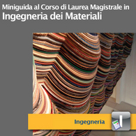 Corso di Laurea Magistrale in Ingegneria dei Materiali