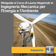 Corso di Laurea Magistrale in Ingegneria Meccanica per l'Energia e l'Ambiente