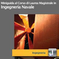 Corso di Laurea Magistrale in Ingegneria Navale