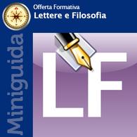 I Corsi di Laurea di Lettere e Filosofia