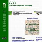 The European Society for Agronomy