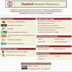 Stanford Genomic Resources