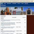 Duke Journal of Comparative & International Law