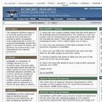 Economic Research Federal Reserve Bank of St. Louis