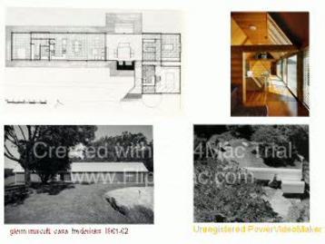 Temi di progetto e composizione delle singole parti. Glenn Murcutt Esempi di lettura di schemi compositivi a partire da alcuni progetti di case unifamiliari