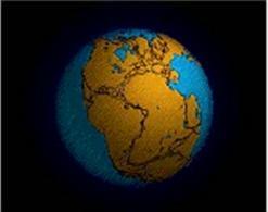 La Pangea e la formazione dei continenti  (Fonte: Wikipedia).