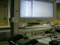 Visualizzazione di oscillazioni e della misura del periodo.