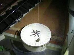 Il pendolo di Foucault del Dipartimento di Scienze Fisiche della Federico II