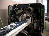 Tubo radiogeno e detettori in movimento